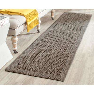 Palm Beach Silver 2 ft. x 8 ft. Runner Rug