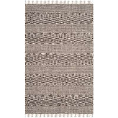 Montauk Ivory/Anthracite 6 ft. x 9 ft. Area Rug