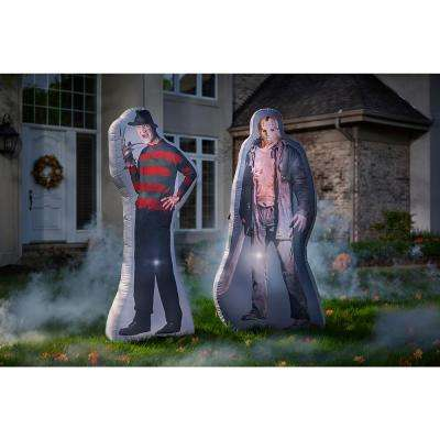 6 ft. Photorealistic Inflatable Freddy Kruger Air-Blown-WB