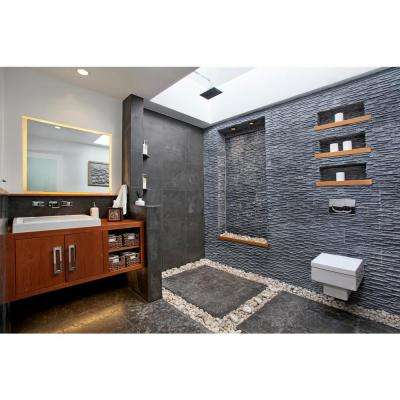 Montauk Blue 16 in. x 16 in. Gauged Slate Floor and Wall Tile (8.9 sq. ft. / case)