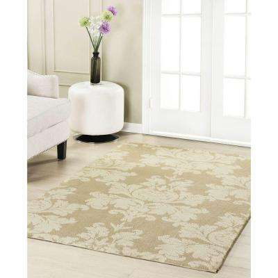 Kent Plush Knit Taupe 8 ft. x 11 ft. Area Rug