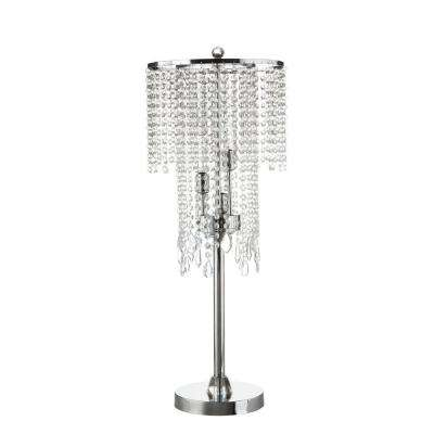 31.5 in. Chrome Table Lamp