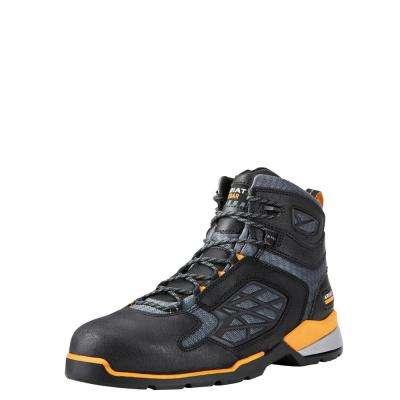 Men's Black Rebar Flex Work Composite Toe Work Boot