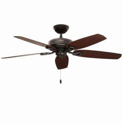 Builder Elite 52 in. Indoor New Bronze Ceiling Fan