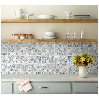 LuxeCraft 12 in. x 12 in. x 6.35mm Riviera Glazed Ceramic Mosaic Floor and Wall Tile (1 sq. ft. / piece)