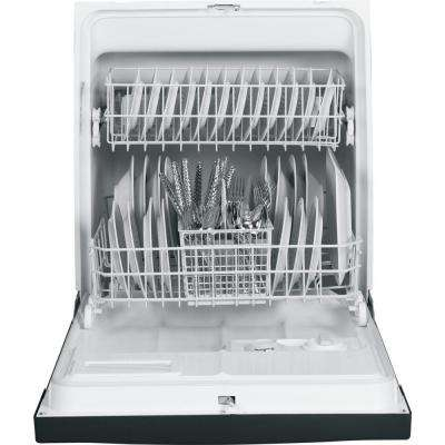 Front Control Under-the-Sink Dishwasher in Black
