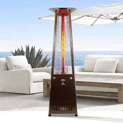 2G A-Line 66,000 BTU Bronze 8 ft. Gas Patio Heater