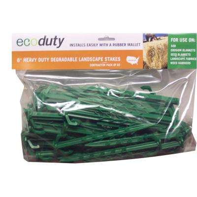 6 in. Degradable Landscape Stake (50-Count)