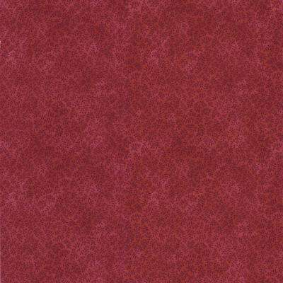 56 sq. ft. Red Leaf Texture Wallpaper