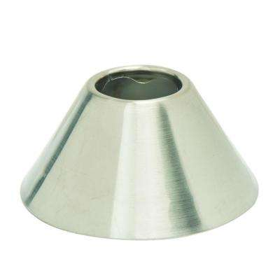1/2 in. IPS Bell Escutcheon in Satin Nickel