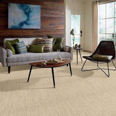 Desert Dawn Sand Dune Patterned 9 in. x 36 in. Carpet Tile (8 Tiles/Case)
