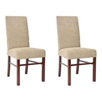 Classic Birchwood Chair in Sage (Set of 2)