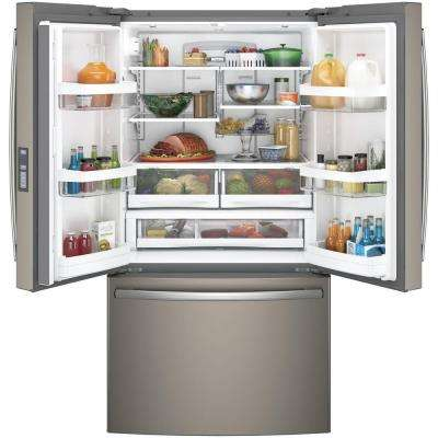 28.7 cu. ft. French Door Refrigerator in Slate, Fingerprint Resistant and ENERGY STAR