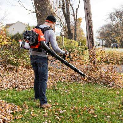 215 MPH 510 CFM 58.2cc Gas 2-Stroke Cycle Backpack Leaf Blower with Tube Throttle