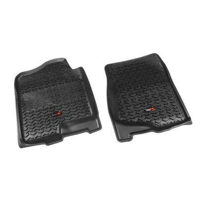 Floor Liner Front Pair Black 2007-2013 GM Full-Size Pickup and SUV