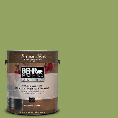 Home Decorators Collection 1 gal. #HDC-MD-15 Zesty Apple Flat/Matte Interior Paint