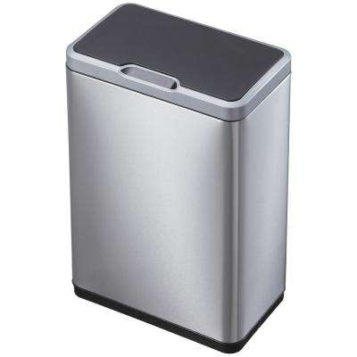 13 Gal. Mirage Indoor Sensor Trash Can in Stainless