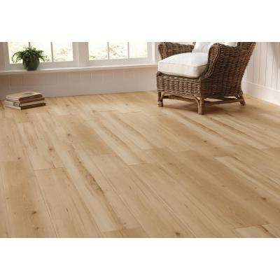 Oceanside Beechwood New 12 mm Thick x 7-19/32 in. Wide x 50-25/32 in. Length Laminate Flooring (18.76 sq. ft. / case)