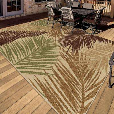 Island Breeze Multi 8 ft. x 11 ft. Indoor/Outdoor Area Rug