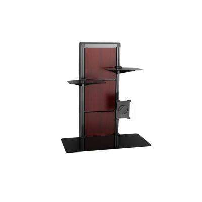 EVO Wall Mount Desk in Cherry and Walnut-DISCONTINUED