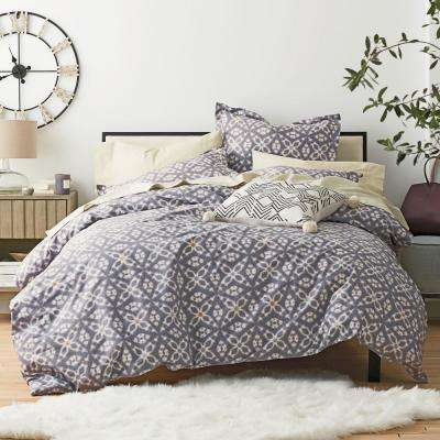 Stargaze Cotton Percale Duvet Cover Set