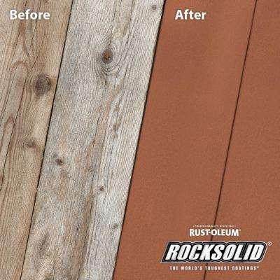 5 Gal. Redwood Exterior 6X Deck Coat