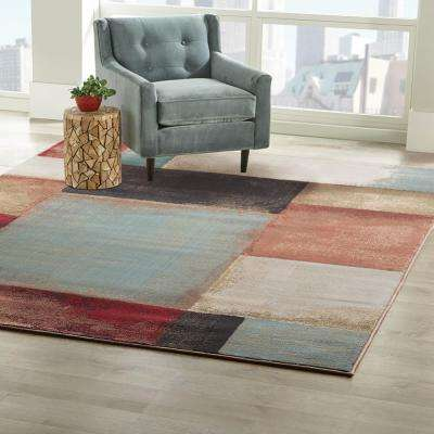 Hayley Multi 8 ft. x 10 ft. Area Rug