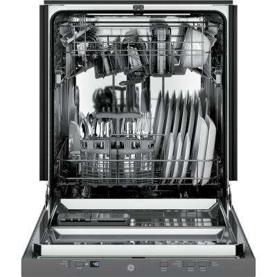 24 in. Top Control Dishwasher in Stainless Steel with Stainless Steel Tub, 51 dBA