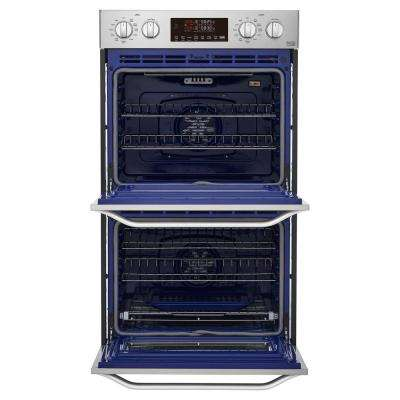 30 in. Double Electric Wall Oven with Self-Cleaning in Stainless Steel