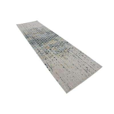 Chimera Honeycomb Beige 3' 0 x 10' 0 Runner Rug