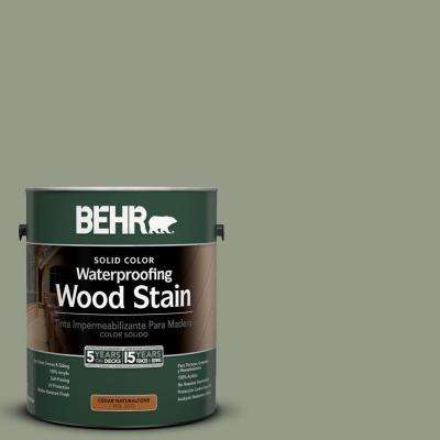 1-Gal. #SC-143 Harbor Gray Solid Color Waterproofing Wood Stain