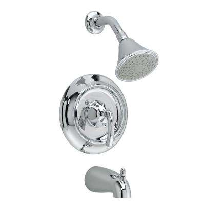 Tropic 1-Handle Tub and Shower Faucet Trim Kit in Chrome (Valve Sold Separately)