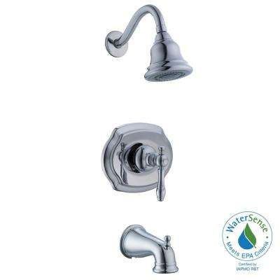 Lyndhurst 1-Handle 3-Spray Tub and Shower Faucet in Chrome