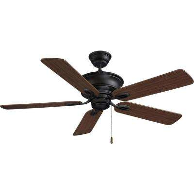 Rainier 52 in. Foundry Bronze Ceiling Fan