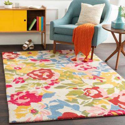 Luka Pale Pink 8 ft. x 10 ft. Area Rug