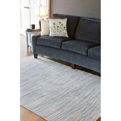 Asha Blue 3 ft. x 10 ft. Runner Rug