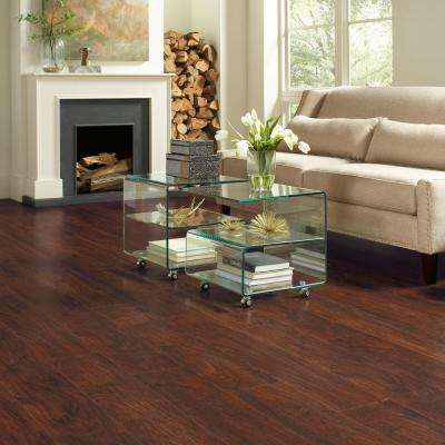 Dark Brown Hickory 7 mm Thick x 8-1/32 in. Wide x 47-5/8 in. Length Laminate Flooring (23.91 sq. ft. / case)