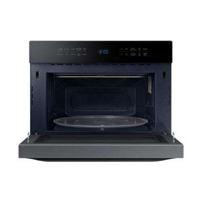 1.2 cu. ft. Countertop Power Convection Microwave in Black Stainless, Built-In Capable with Sensor Cooking
