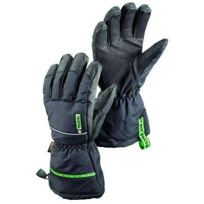 GTX Pro Finger Size 10 X-Large Cold Weather Insulated Glove Gore-Tex Membrane in Black