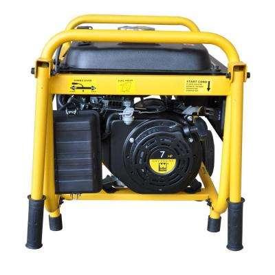 3,000-Watt Gasoline Powered Portable Generator with Wheel Kit