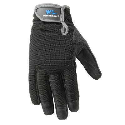 Large High Dexterity Synthetic Leather Work Gloves