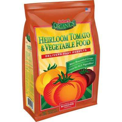 8 lb. Organic Heirloom Tomato and Vegetable Plant Food