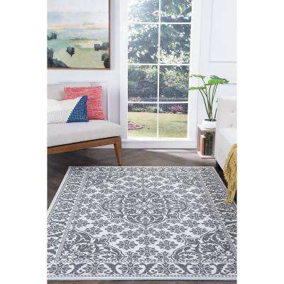 Majesty Ivory 9 ft. x 13 ft. Traditional Area Rug