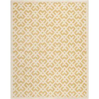 Chatham Light Gold/Ivory 8 ft. x 10 ft. Area Rug