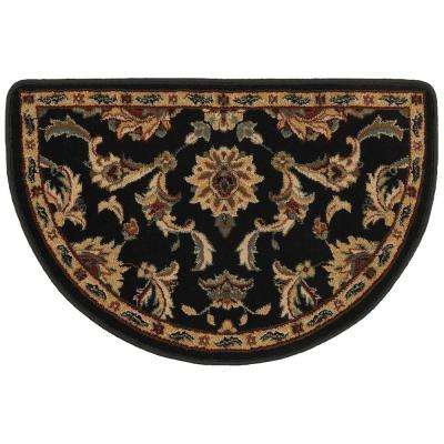 Huntington Black 2 ft. 2 in. x 3 ft. 3 in. Accent Rug