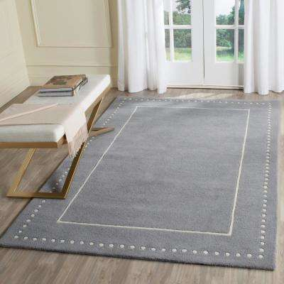 Bella Silver/Ivory 6 ft. x 9 ft. Area Rug