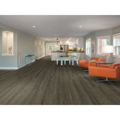 Sherbrooke Mineral 7 in. x 48 in. 2G Fold Down Click Luxury Vinyl Plank Flooring (23.64 sq. ft. / case)
