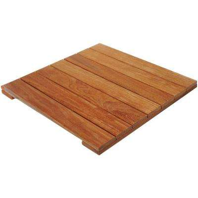 Cumaru 2 ft. x 2 ft. wood Deck Tile