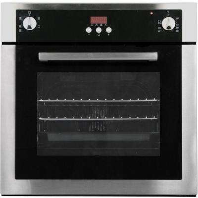 24 in. 2 cu. ft. Single Electric Wall Oven with Convection in Stainless Steel