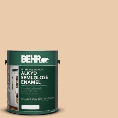 1-gal. #AE-15 Wooden Peg Semi-Gloss Enamel Alkyd Interior/Exterior Paint